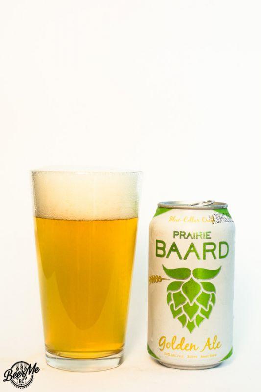 Bomber Brewing Pairie Baard Golden Ale