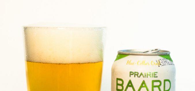 Bomber Brewing – Prairie Baard Golden Ale
