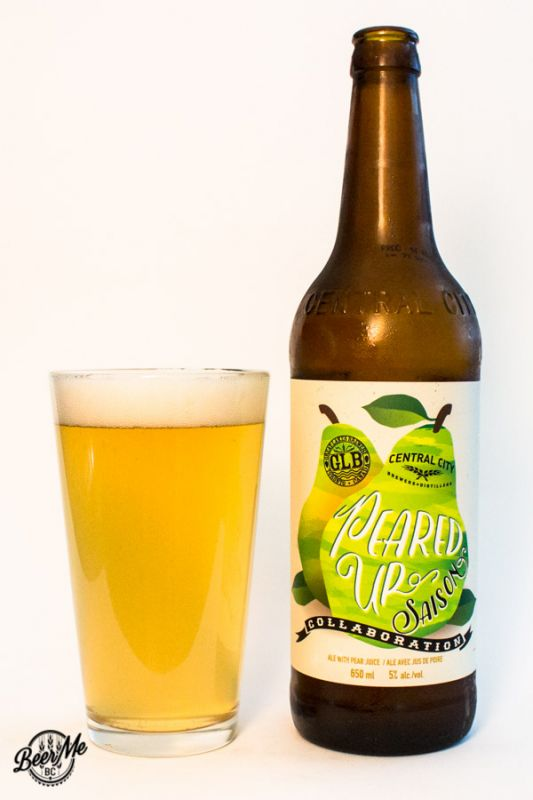 Central City Brewing Great Lakes Brewing Peared Up Saison