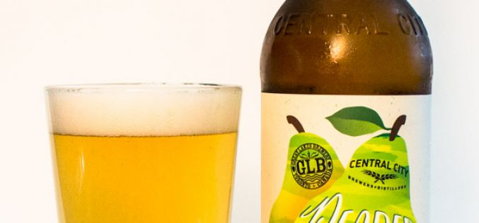 Central City and Great Lakes Brewery Collaboration Peared Up Saison