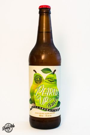 Central City Brewing Great Lakes Brewing Peared Up Saison Bottle