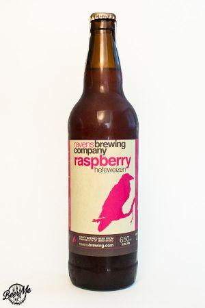 Ravens Brewing Raspberry Hefeweizen Bottle