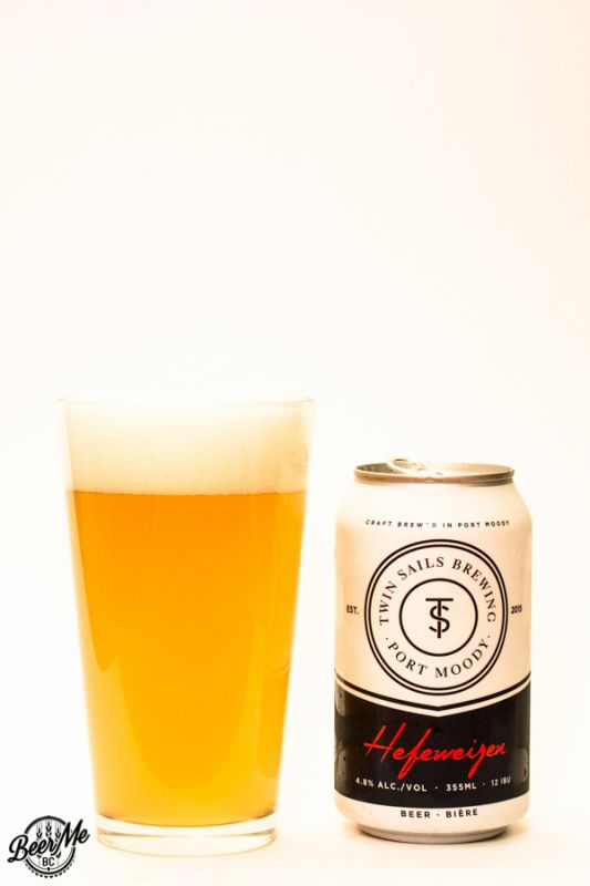 Twin Sails Brewing Hefeweizen