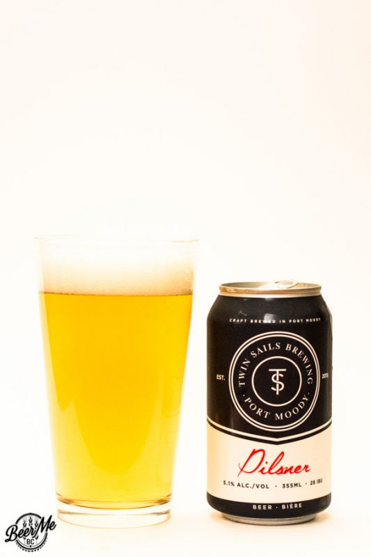 Twin Sails Brewing Pilsner