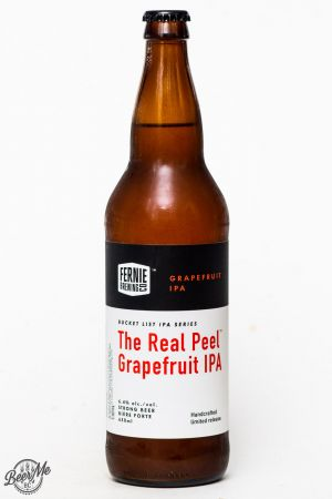 Fernie Brewing The Real Peel Grapefruit IPA Review