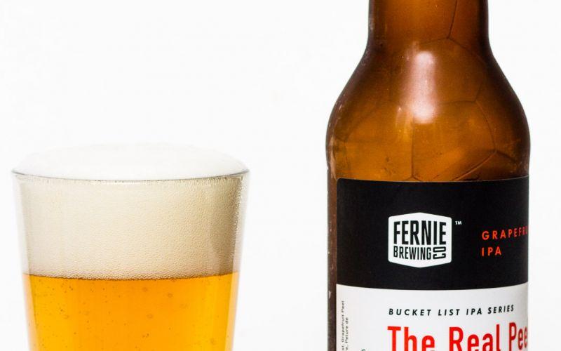 Fernie Brewing Co. – The Real Peel Grapefruit IPA