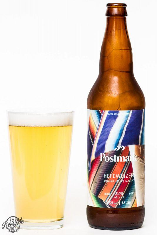 Postmark Brewing Hefeweisen Review