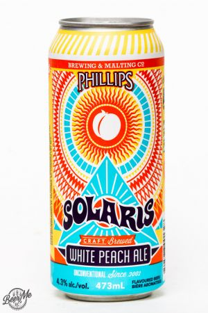 Phillips Brewing - Solaris White Peach Ale Review