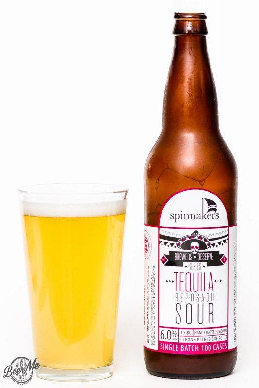 Spinnaker's Brewery Tequila Repersado Sour Ale