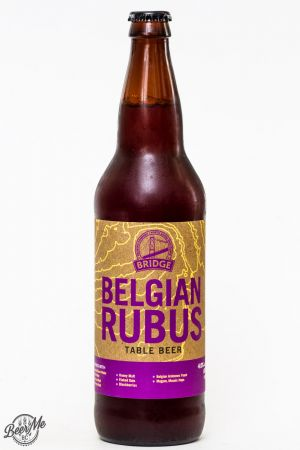 Bridge Brewing - Belgian Rubus Table Beer Review