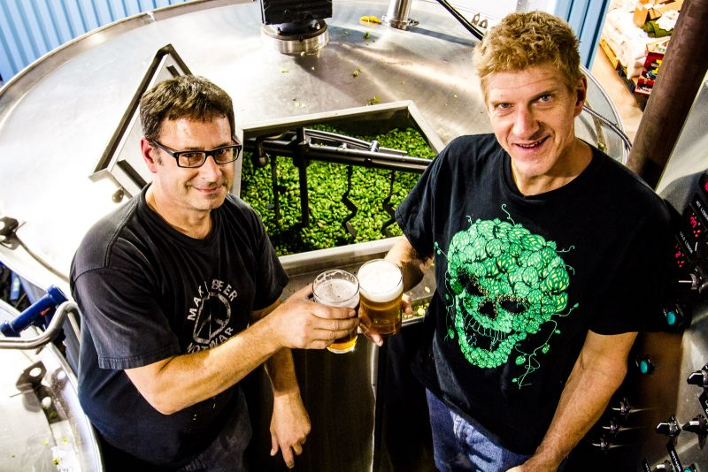 Gary & Vern Collaboration Brew