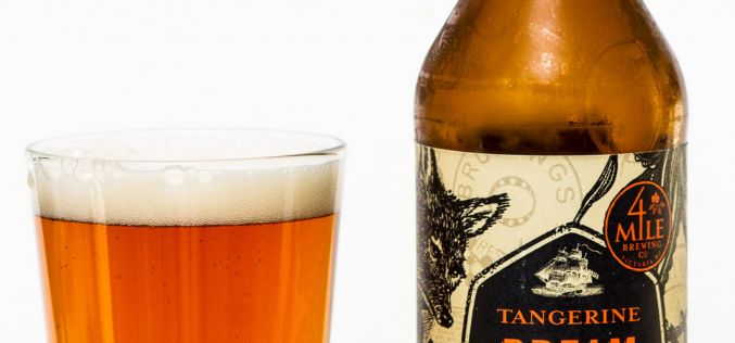 4 Mile Brewing Co. – Tangerine Dream Ale