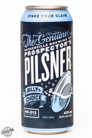 Barkerville Brewing Prospector's Pilsner Review