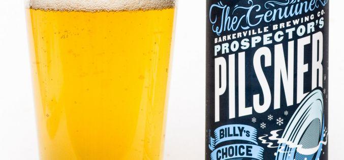 Barkerville Brewing Co. – Prospector's Pilsner