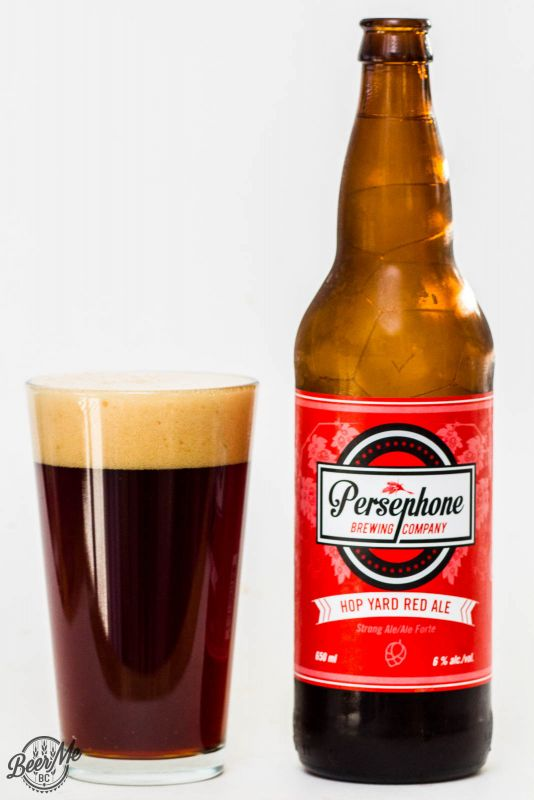 Persephone Brewing Hop Yard Red Ale Review