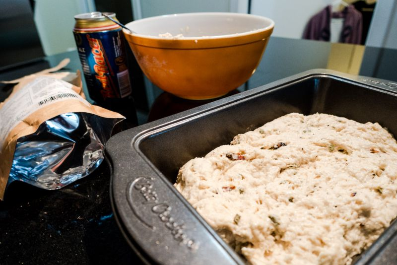 Making Beer Bread
