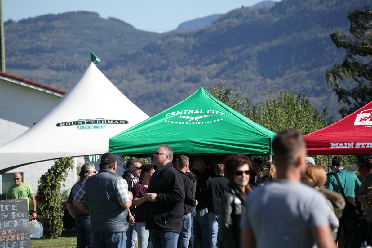 Hop Fest 2016 Vendor Tents