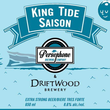 Driftwood and Persephone King Tide Saison