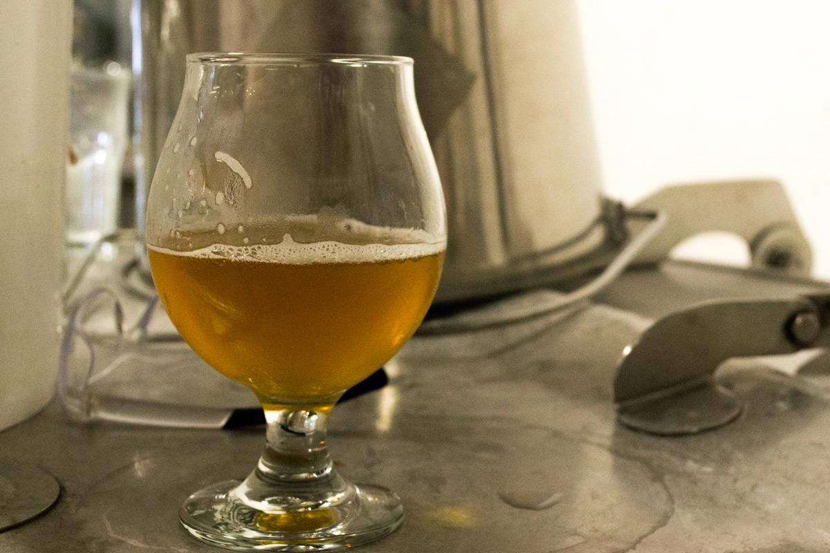 SFU Brewing Sampling Glass