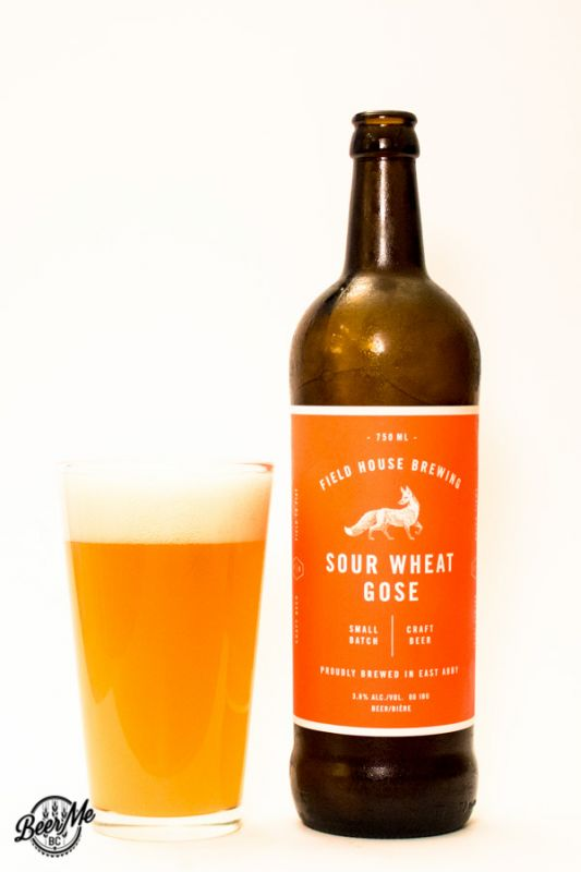 Fieldhouse Brewing Sour Wheat Gose