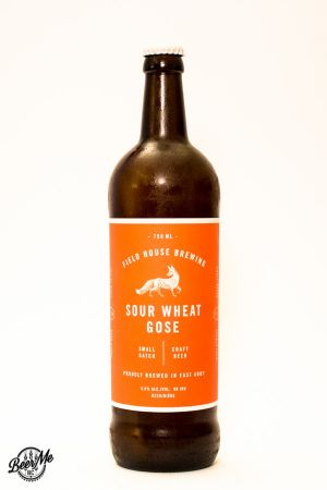 Fieldhouse Brewing Sour Wheat Gose Bottle