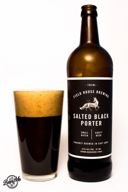 Fieldhouse Brewing Salted Black Porter