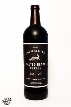 Fieldhouse Brewing Salted Black Porter Bottle