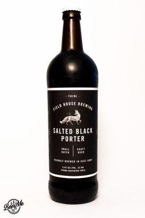 Fieldhouse Brewing Salted Black Porter Bottle
