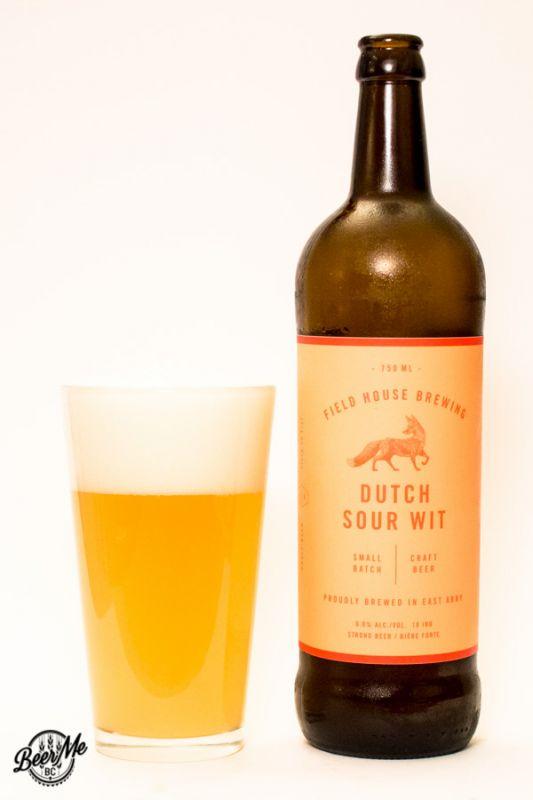 Fieldhouse Brewing Dutch Sour Wit