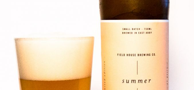 Fieldhouse Brewing – Summer Seasonal Saison