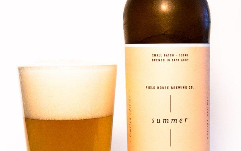 Fieldhouse Brewing – Summer Seasonal Saison