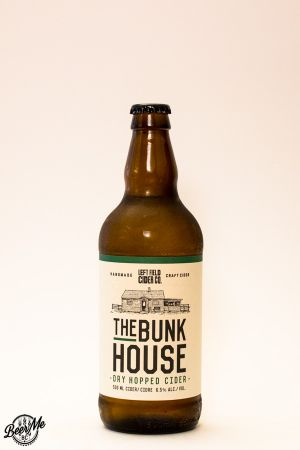 Left Field Cider The Bunkhouse Dry-hopped Cider Bottle