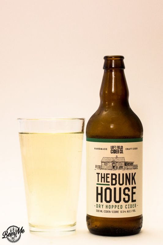 Left Field Cider The Bunkhouse Dry-hopped Cider