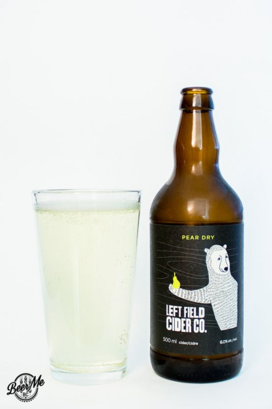 Left Field Cider Pear Dry