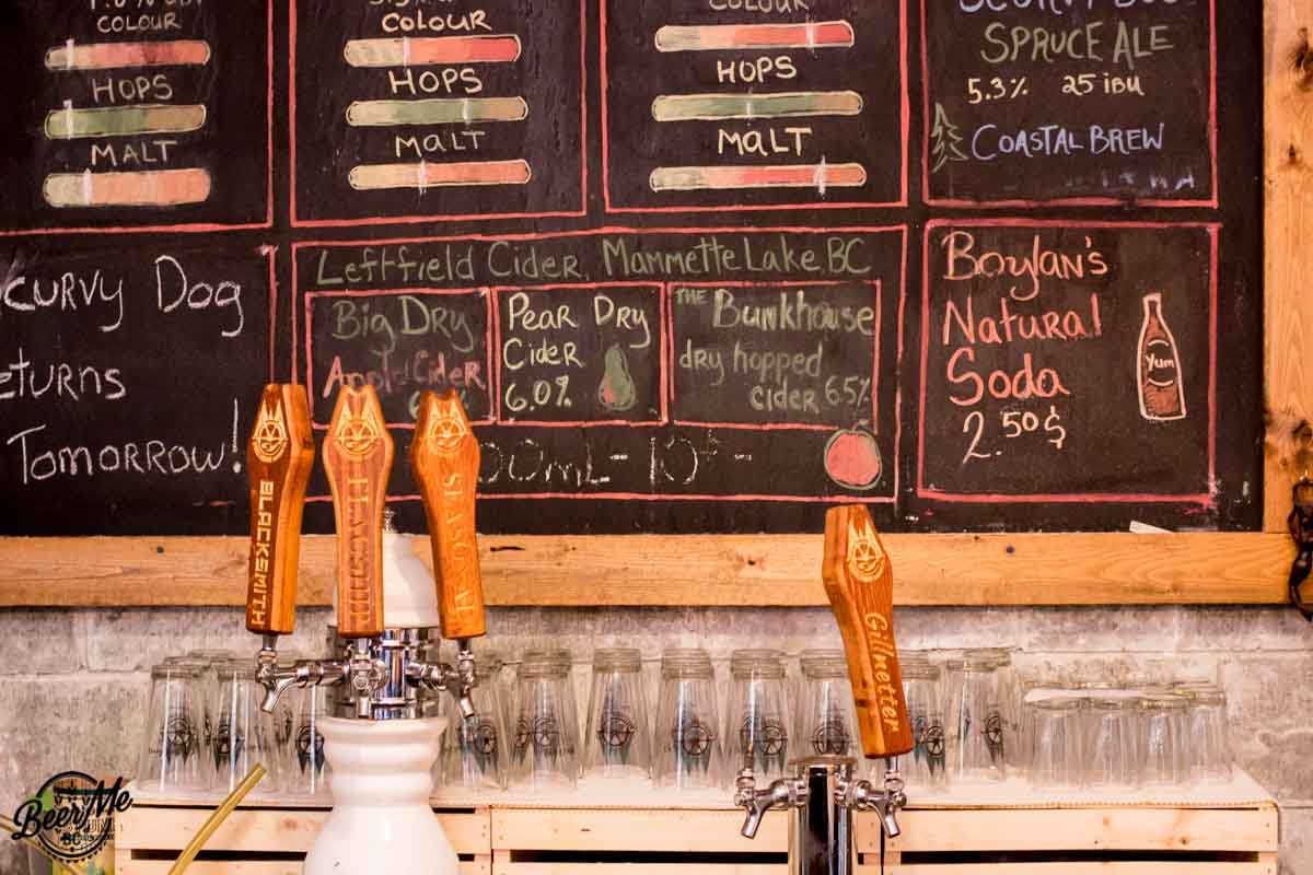 Wheelhouse Brewing Taps