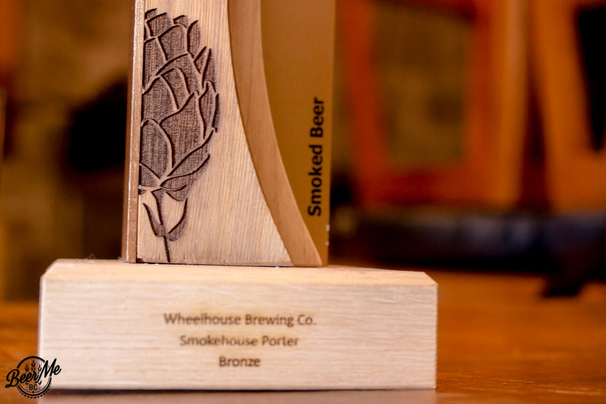 Wheelhouse Brewing Smokehouse Porter Award