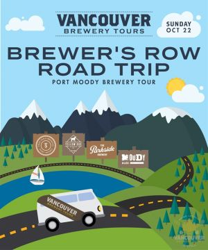 Vancouver Brewery Tours Brewer's Row