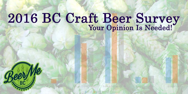2016 BC Craft Beer Survey