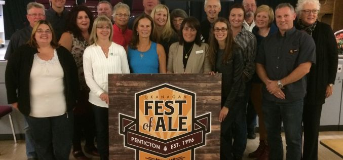 21st Annual Okanagan Fest Of Ale Donates $40,000 to Charity