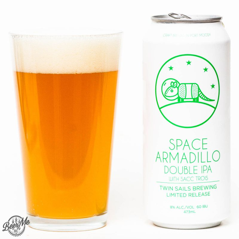 Twin Sails Brewing - Space Armadillo Double IPA Review