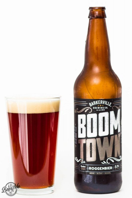 Barkerville Brewing - Boom Town Roggenbier Reivew