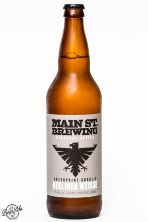 Main Street Brewing Berliner Weisse Review