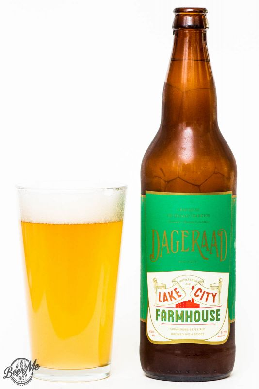 Dageraad Brewing Co. - Lake City Farmhouse Ale Review