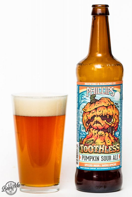 Phillips Brewing - Toothless Pumpkin Sour Ale
