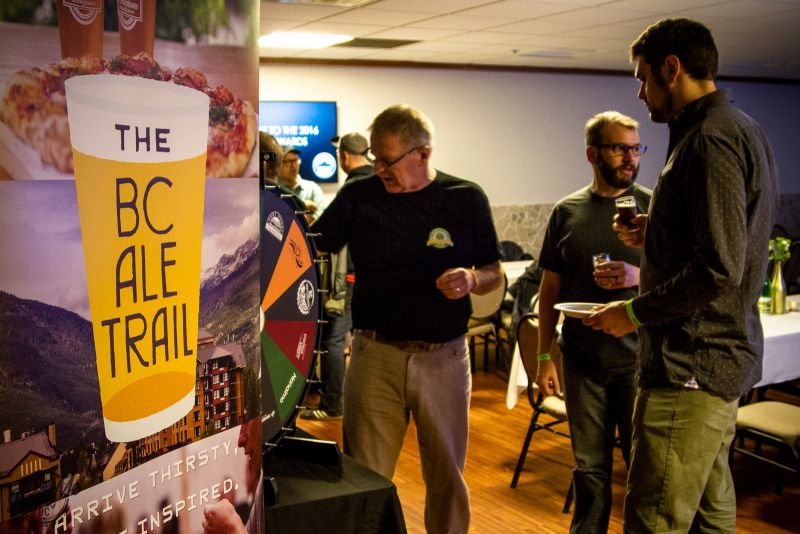 BC's New Ale Trail Launched at this year's BC Beer Awards