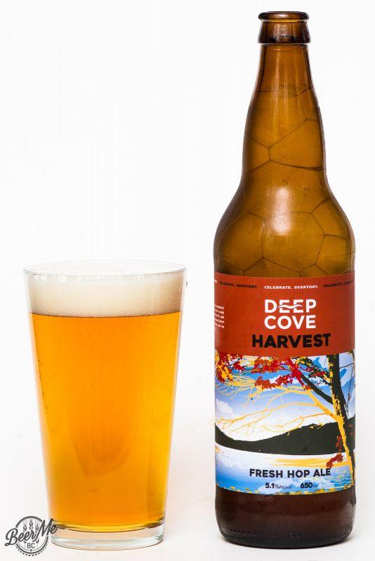 Deep Cove Brewers Harvest Fresh Hop Ale Review