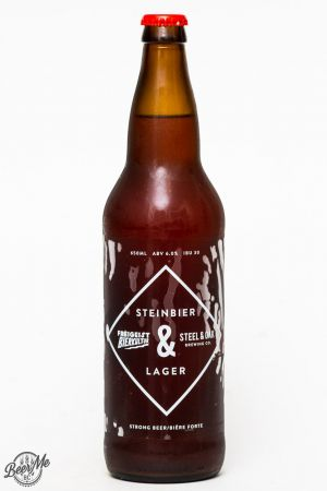 Steel & Oak Brewing Collaboration Steinbier Lager Review
