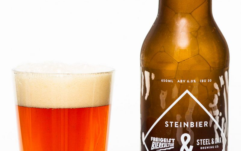 Steel & Oak Brewing and Freigeist Bierkultur Steinbier Lager