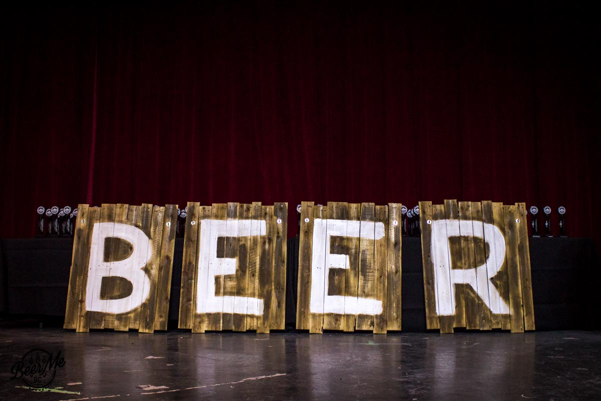 BC Beer Awards 2016 Beer Sign