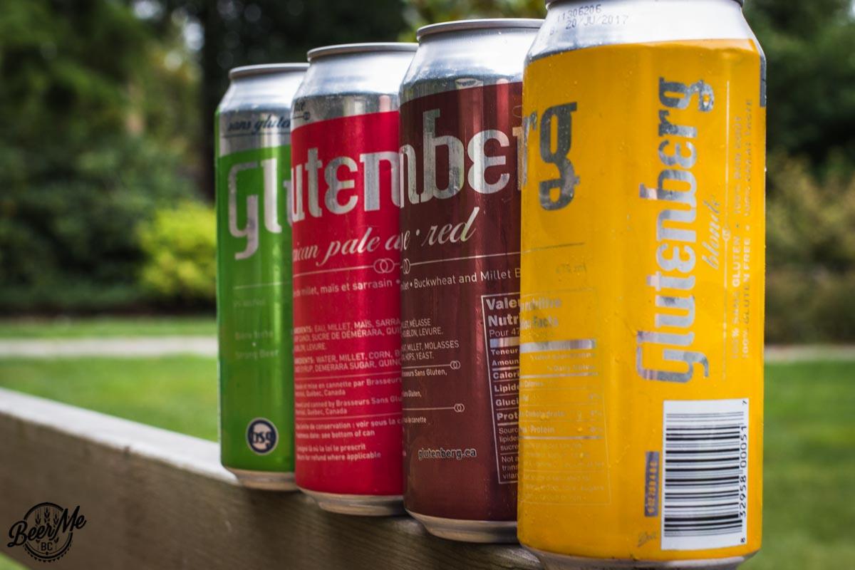 Gluten Free Glutenberg Product Lineup